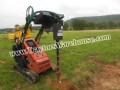 CID Xtreme Skid Steer Auger Post Hole Digger Fits Toro Dingo Mini Skid Steer