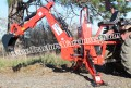 7'Dig Tractor Backhoe w/Tank,Pump,Filter, PTO Powered Cat.I 30Hp
