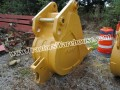 Excavator Bucket Esco YSHD Heavy Duty Rock Bucket