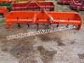 "3pt 8' foot ""HEAVY DUTY"" box blade with scarfire teeth and rear gate"