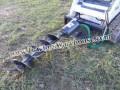 NEW CID Xtreme Skid Steer Auger Post Hole Digger For Bobcat Loader Case Cat
