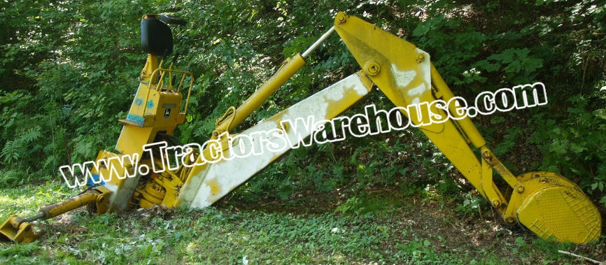 John Deere 9300 backhoe attachment for 350, 450, or 550