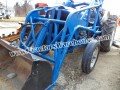 Ford 2000 loader and backhoe gas motor
