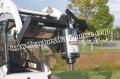 Bobcat Skid Steer Lowe A220 Auger Drive Post Hole Digger Unit