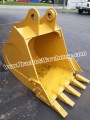 "New 36"" Caterpillar 315 Heavy Duty Excavator Bucket Yellow Nice"