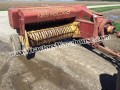 NEW HOLLAND 277 SMALL SQUARE BALER HAY STRAW TIE WORKS GOOD FIELD READY