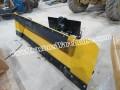 "Pro tech 90"" skid steer snow plow NEW steel trip edge"