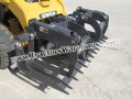"Paladin FFC 72"" Skid SteerLoader Utility Brush Grapple Bucket Attachment"