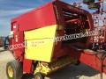 NEW HOLLAND 855 ROUND BALER HAY STRAW NICE BALE