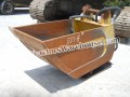 FELCO HYDRAULIC PACKER BUCKET, CLEANOUT, EXCELLENT CONDITION