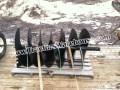 """36"""" x 72"""" 6' long McMillen skid steer loader Bobcat auger"""