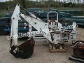 BRADCO BACKHOE ATTACHMENT FOR SKID STEER MDL# 9MD2 ONLY 3 HOURS