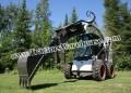 Skid Steer GrappleHoe Q860 Backhoe Attachment