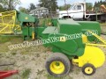 JOHN DEERE 336 BALER WITH KICKER used last season