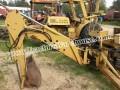 Compact mini 3 point Magnatrac backhoe attachment w/controls