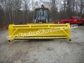 12' BACKHOE SNOW BOX PUSHER PLOW BLADE