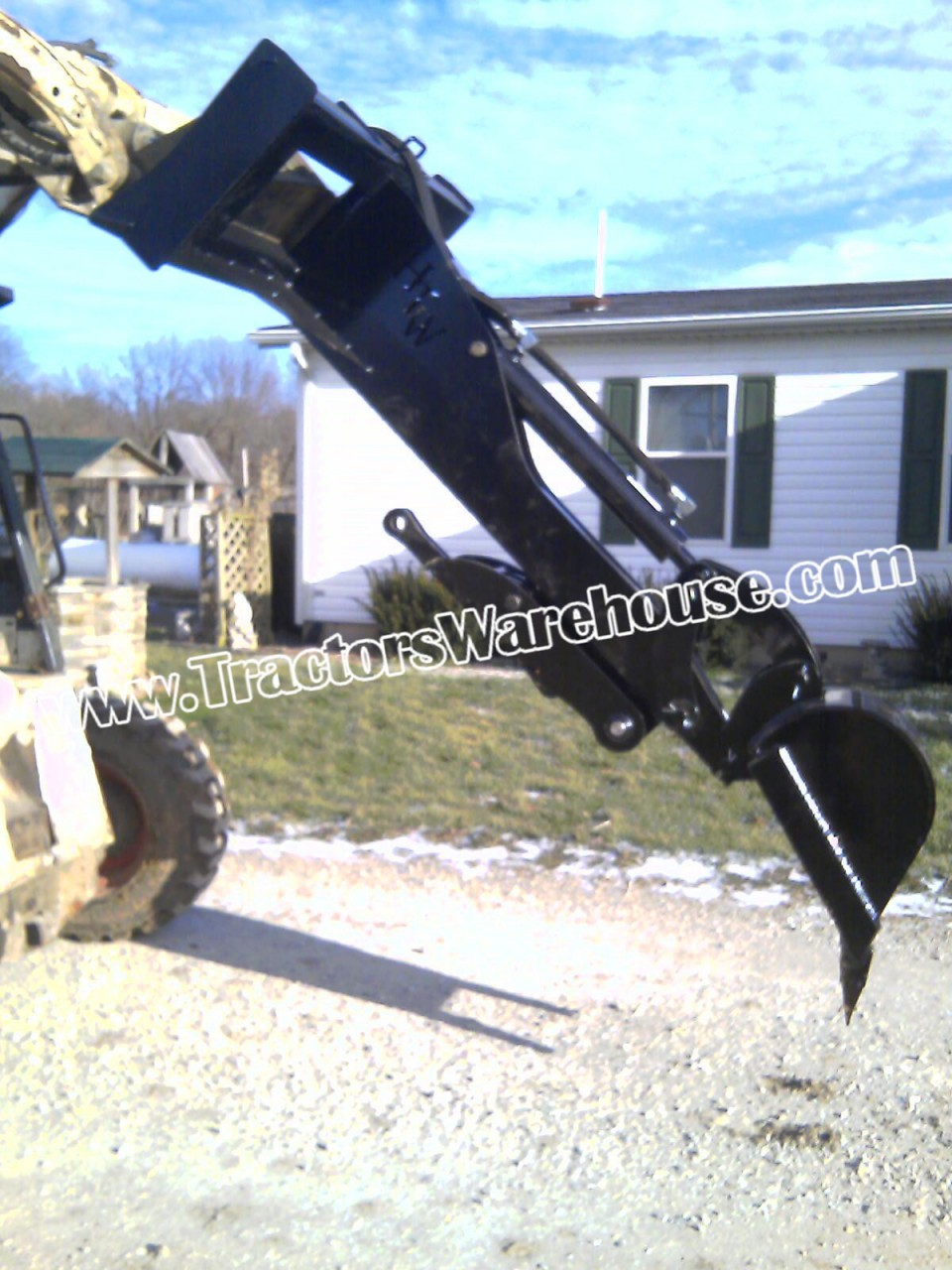 Skid Steer Attachment Backhoe Bobcat John Deere Holland