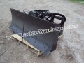 "Heavy duty 6 way 72"" dozer blade for skid steer loaders"