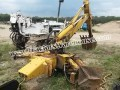 Case loader BACKHOE attachment w/bucket Model 36