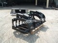 "Skid steer 81"" xtreme duty root grapple"