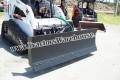 "Telehandler 72"" 4 Way Hydraulic Snow Plow/Dozer Blade"