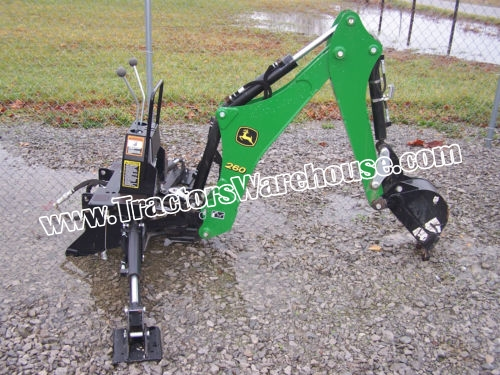 John Deere Backhoe Attachment >> John Deere 260 Backhoe Attachment Only For Compact Tractor